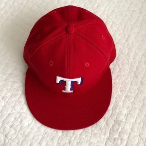 New Era Texas Rangers Official On-Field Cap